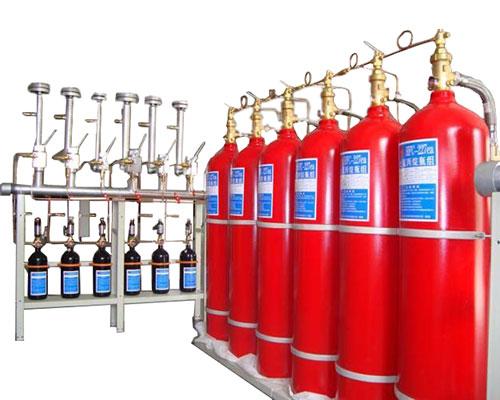 有管网七氟丙烷气体自动灭火系统