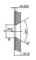 图5 减压孔板