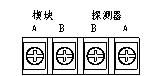 微机调制器接线端子示意图