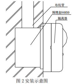 GST-LD-8369隔离器安装示意图