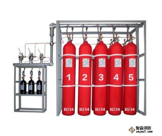 IG541气体灭火系统注意事项及喷嘴安装