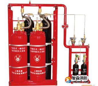 外储压七氟丙烷灭火系统